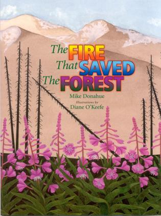 Cover image for the book The Fire that Saved the Forest