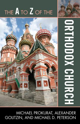 Cover image for the book The A to Z of the Orthodox Church