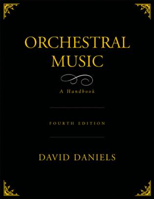 Cover image for the book Orchestral Music: A Handbook, 4th Edition