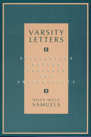 Cover image for the book Varsity Letters: Documenting Modern Colleges and Universities