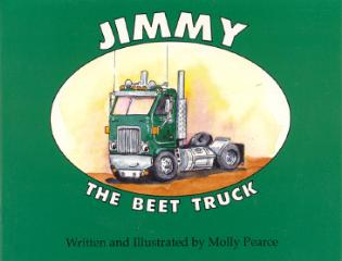 Cover image for the book Jimmy the Beet Truck