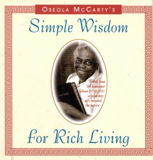 Cover image for the book Simple Wisdom for Rich Living