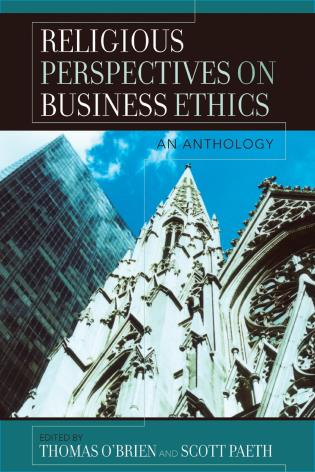 Cover image for the book Religious Perspectives on Business Ethics: An Anthology