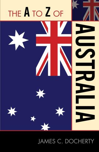 Cover image for the book The A to Z of Australia