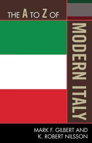 Cover image for the book The A to Z of Modern Italy