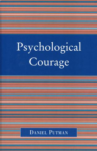 Cover image for the book Psychological Courage