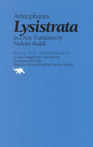 Cover image for the book Lysistrata