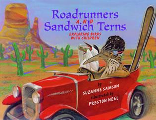 Cover image for the book Road Runners & Sandwich Terns: Exploring Birds with Children