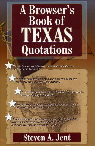 Cover image for the book Browser's Book of Texas Quotations