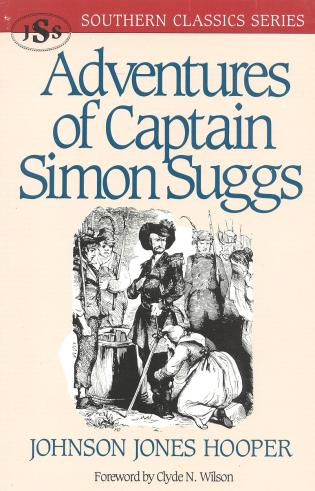 Cover image for the book Adventures of Captain Simon Suggs