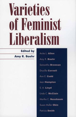 Cover image for the book Varieties of Feminist Liberalism