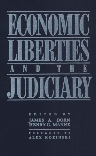 Cover image for the book Economic Liberties and the Judiciary