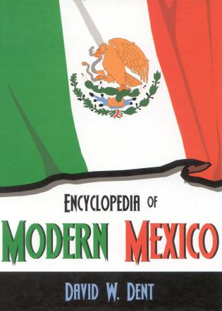 Cover image for the book Encyclopedia of Modern Mexico