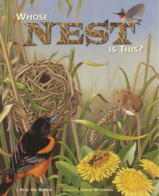Cover image for the book Whose Nest Is This?