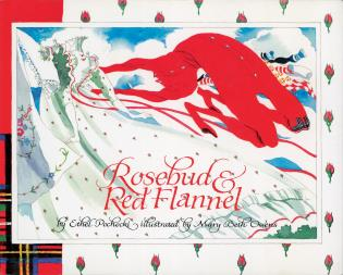 Cover image for the book Rosebud and Red Flannel