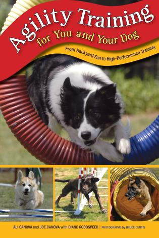 Cover image for the book Agility Training for You and Your Dog: From Backyard Fun To High-Performance Training, First Edition