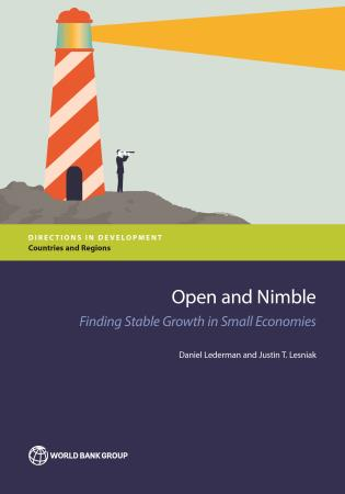 Cover image for the book Open and Nimble: Finding Stable Growth in Small Economies