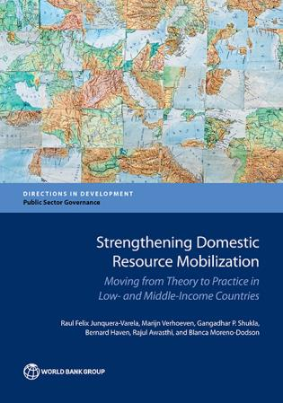 Cover image for the book Strengthening Domestic Resource Mobilization in Developing Countries