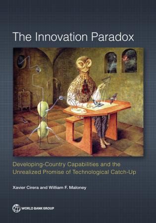 Cover image for the book The Innovation Paradox: Developing-Country Capabilities and the Unrealized Promise of Technological Catch-Up