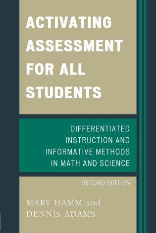 Cover image for the book Activating Assessment for All Students: Differentiated Instruction and Information Methods in Math and Science, 2nd Edition
