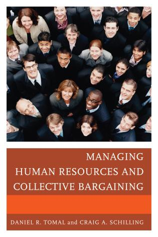 Cover image for the book Managing Human Resources and Collective Bargaining