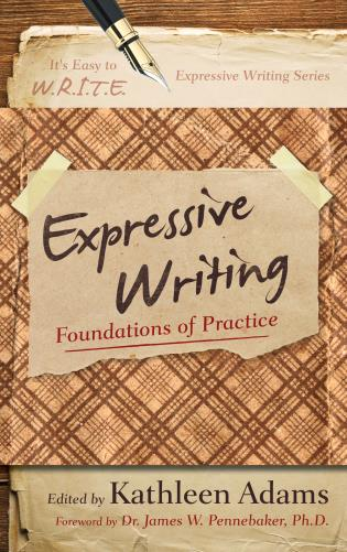 Cover image for the book Expressive Writing: Foundations of Practice