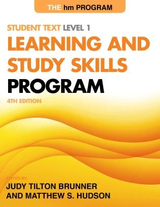 Cover image for the book The hm Learning and Study Skills Program: Student Text Level 1, 4th Edition