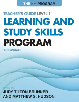 Cover image for the book The hm Learning and Study Skills Program: Teacher's Guide Level 1, 4th Edition