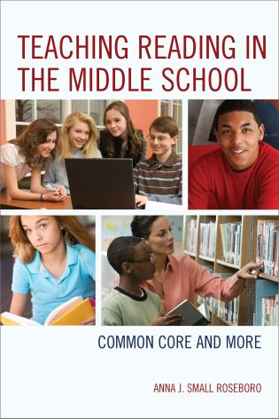 Cover image for the book Teaching Reading in the Middle School: Common Core and More