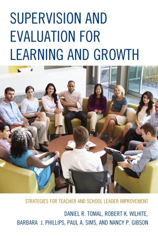 Cover image for the book Supervision and Evaluation for Learning and Growth: Strategies for Teacher and School Leader Improvement