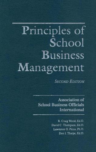 Cover image for the book Principles of School Business Management, 2nd Edition
