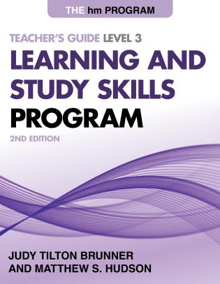 Cover image for the book The HM Learning and Study Skills Program: Teacher's Guide Level 3, 2nd Edition