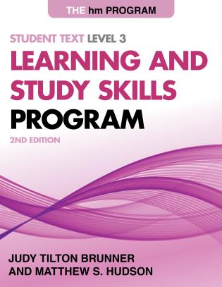 Cover image for the book The HM Learning and Study Skills Program: Student Text Level 3, 2nd Edition