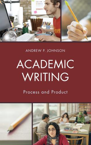 Cover image for the book Academic Writing: Process and Product