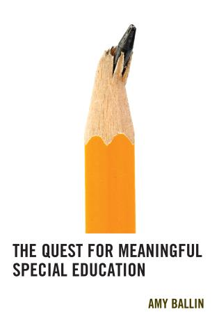 Cover image for the book The Quest for Meaningful Special Education