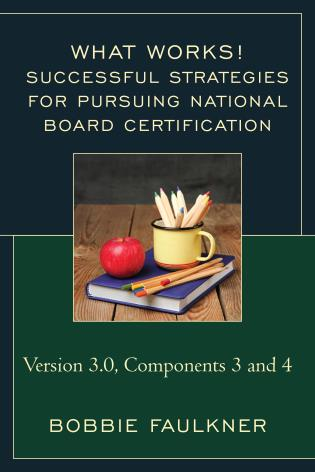 Cover image for the book Successful Strategies for Pursuing National Board Certification: Version 3.0, Components 3 and 4