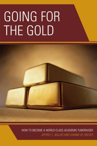 Cover image for the book Going for the Gold: How to Become a World-Class Academic Fundraiser