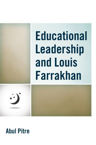 Cover image for the book Educational Leadership and Louis Farrakhan