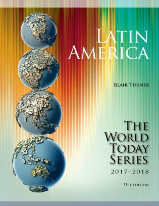 Cover image for the book Latin America 2017-2018, Fifty-First Edition