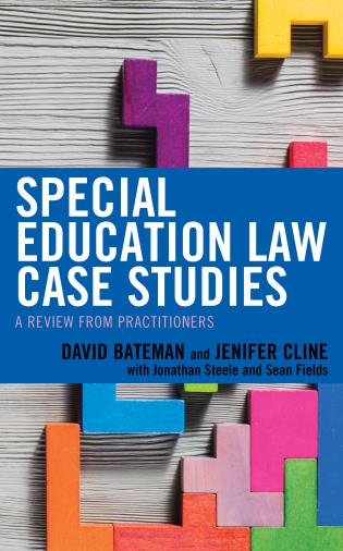 Cover image for the book Special Education Law Case Studies: A Review from Practitioners