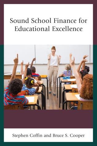 Cover image for the book Sound School Finance for Educational Excellence