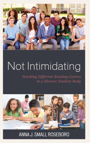 Cover image for the book Not Intimidating: Teaching Different Reading Genres to a Diverse Student Body