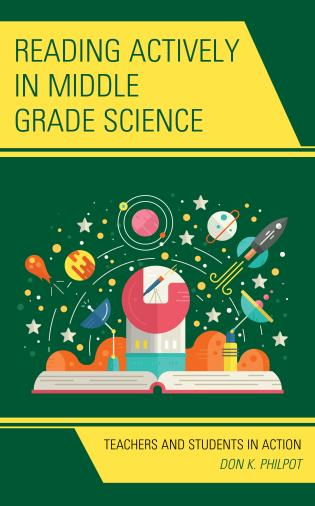 Cover image for the book Reading Actively in Middle Grade Science: Teachers and Students in Action