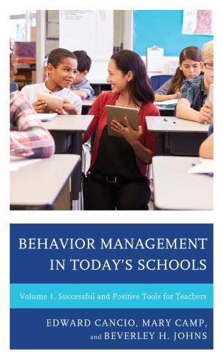 Cover image for the book Behavior Management in Today's Schools: Successful and Positive Tools for Teachers, Volume 1