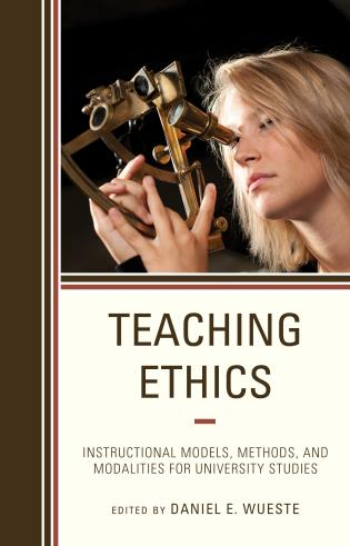 Cover Image of the book titled Teaching Ethics