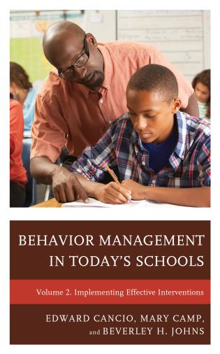 Cover image for the book Behavior Management in Today's Schools: Implementing Effective Interventions, Volume 2