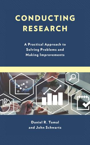 Cover image for the book Conducting Research: A Practical Approach to Solving Problems and Making Improvements