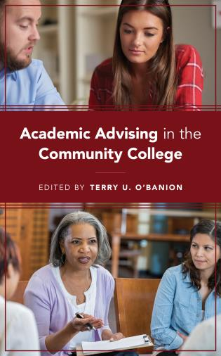Cover image for the book Academic Advising in the Community College