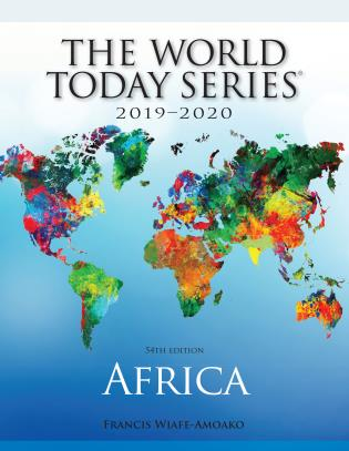 Cover image for the book Africa 2019-2020, 54th Edition