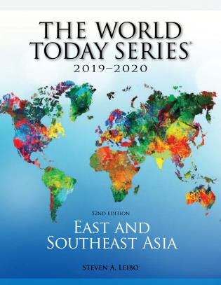 Map Of Asia Today.East And Southeast Asia 2019 2020 52nd Edition 9781475852523